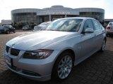2007 Titanium Silver Metallic BMW 3 Series 335i Sedan #9836980