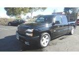 2003 Black Chevrolet Silverado 1500 SS Extended Cab AWD #98384868