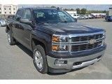 2015 Tungsten Metallic Chevrolet Silverado 1500 LT Z71 Crew Cab 4x4 #98384719