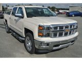 2015 White Diamond Tricoat Chevrolet Silverado 1500 LTZ Z71 Crew Cab 4x4 #98384716