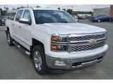 2015 Summit White Chevrolet Silverado 1500 LT Z71 Crew Cab 4x4 #98384715