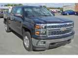 2015 Tungsten Metallic Chevrolet Silverado 1500 LT Z71 Double Cab 4x4 #98384714