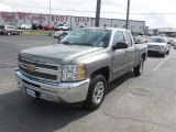 2013 Graystone Metallic Chevrolet Silverado 1500 LS Extended Cab #98384461