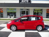 2011 Milano Red Honda Fit Sport #98384640