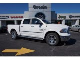 2014 Bright White Ram 1500 Laramie Crew Cab 4x4 #98384541