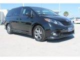 2011 Black Toyota Sienna SE #98384755