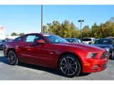 2014 Ruby Red Ford Mustang GT Coupe #98426329