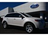 2014 White Platinum Ford Edge SEL #98426323