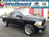 2012 Black Dodge Ram 1500 ST Quad Cab 4x4 #98426531