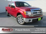 2014 Ruby Red Ford F150 XLT SuperCrew #98426388