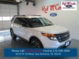 2014 White Platinum Ford Explorer Sport 4WD #98426155