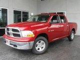 2009 Inferno Red Crystal Pearl Dodge Ram 1500 SLT Crew Cab 4x4 #9822937