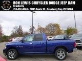 2014 Blue Streak Pearl Coat Ram 1500 SLT Quad Cab 4x4 #98426214