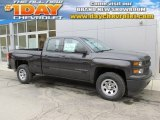 Tungsten Metallic Chevrolet Silverado 1500 in 2015