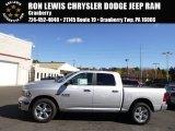 2014 Bright Silver Metallic Ram 1500 SLT Crew Cab 4x4 #98464410