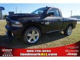 2015 Black Ram 1500 Sport Regular Cab #98464473