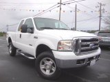 2005 Oxford White Ford F350 Super Duty Lariat SuperCab 4x4 #98464620