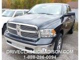 2015 Granite Crystal Metallic Ram 1500 SLT Crew Cab 4x4 #98464678
