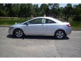 2007 Alabaster Silver Metallic Honda Civic EX Coupe #9835797