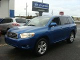2008 Blue Streak Metallic Toyota Highlander Limited 4WD #98464827