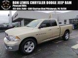 2011 White Gold Dodge Ram 1500 Big Horn Quad Cab 4x4 #98464608