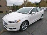 2015 Ford Fusion White Platinum Metallic
