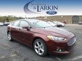 2015 Bronze Fire Metallic Ford Fusion SE #98464422