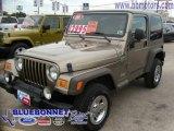 2006 Light Khaki Metallic Jeep Wrangler Sport 4x4 #9837299