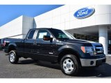 2014 Tuxedo Black Ford F150 XLT SuperCab 4x4 #98464488