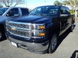 2015 Black Chevrolet Silverado 1500 LT Crew Cab 4x4 #98502446