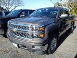 2015 Brownstone Metallic Chevrolet Silverado 1500 LT Crew Cab 4x4 #98502445