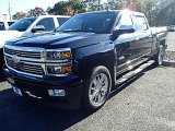 2014 Black Chevrolet Silverado 1500 High Country Crew Cab 4x4 #98502434
