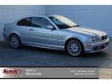 2003 Titanium Silver Metallic BMW 3 Series 330i Coupe #98502771