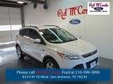 2015 White Platinum Metallic Tri-Coat Ford Escape SE #98502563