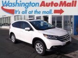 2013 White Diamond Pearl Honda CR-V EX AWD #98502641