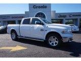 2014 Bright White Ram 1500 Laramie Longhorn Crew Cab 4x4 #98502707