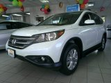 2014 White Diamond Pearl Honda CR-V EX-L AWD #98547906
