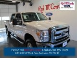 2015 Oxford White Ford F250 Super Duty XLT Crew Cab 4x4 #98547692