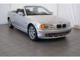 2001 Titanium Silver Metallic BMW 3 Series 330i Convertible #98547661