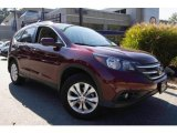 2012 Basque Red Pearl II Honda CR-V EX-L 4WD #98570699