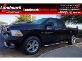 2012 Black Dodge Ram 1500 ST Quad Cab #98570747