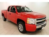 2010 Victory Red Chevrolet Silverado 1500 LS Extended Cab #98570846