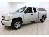 2010 Chevrolet Silverado 1500 LS Extended Cab Front 3/4 View