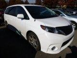 2012 Super White Toyota Sienna SE #98570935