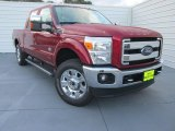 2015 Ruby Red Ford F250 Super Duty King Ranch Crew Cab 4x4 #98597155