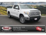 2015 Super White Toyota Tundra Limited Double Cab 4x4 #98596969