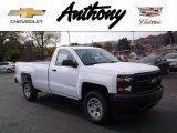 2015 Summit White Chevrolet Silverado 1500 WT Regular Cab 4x4 #98597482