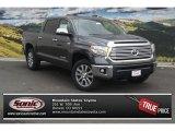 2015 Magnetic Gray Metallic Toyota Tundra Limited CrewMax 4x4 #98596964