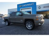 2014 Brownstone Metallic Chevrolet Silverado 1500 High Country Crew Cab 4x4 #98597250