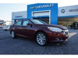 2015 Butte Red Metallic Chevrolet Malibu LTZ #98597248